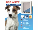 DOG MATE PET DOOR SMALL - WHITE*+