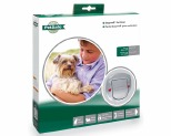 STAYWELL BIG CAT/SMALL DOG PET DOOR FROSTED
