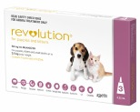 REVOLUTION FOR PUPPIES AND KITTENS 3 PACK (PINK)