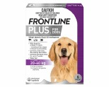 FRONTLINE PLUS DOG LARGE 20-40KG 6 PACK (PURPLE)