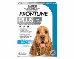 FRONTLINE PLUS DOG MEDIUM 10-20KG 3 PACK (BLUE)