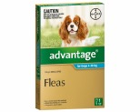 ADVANTAGE FOR MEDIUM DOGS 4-10KG 1 PACK (AQUA)