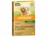 ADVOCATE FOR SMALL DOGS UP TO 4KG 1 PACK (GREEN)