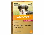ADVOCATE FOR LARGE DOGS 10-25KG 1 PACK (RED)
