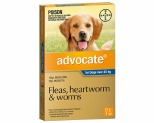 ADVOCATE FOR EXTRA LARGE DOGS OVER 25KG 1 PACK (BLUE)