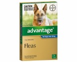 ADVANTAGE FOR EXTRA LARGE DOGS OVER 25KG 1 PACK (BLUE)