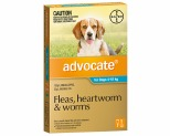 ADVOCATE FOR MEDIUM DOGS 4-10KG 1 PACK (AQUA)