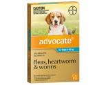 ADVOCATE FOR MEDIUM DOGS 4-10KG 1 PACK (AQUA)