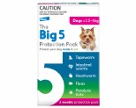 THE BIG 5 PROTECTION 2.5-4KG 3 PACK (PINK)