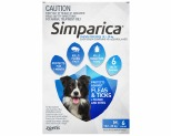 SIMPARICA 10.1-20KG 40MG 6 PACK (BLUE)