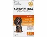 SIMPARICA TRIO 5.1-10KG ORANGE 3 PACK