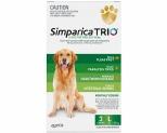 SIMPARICA TRIO 20.1-40KG GREEN  3 PACK