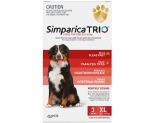 SIMPARICA TRIO 40.1-60KG RED 3 PACK