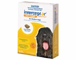 INTERCEPTOR SPECTRUM FOR MEDIUM DOGS 12-22KG 6 PACK (YELLOW)