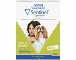 SENTINEL SPECTRUM SMALL 4-11KG 3 PACK (GREEN)