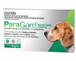 PARAGARD ALLWORMER FOR DOGS UP TO 10KG 4 PACK (GREEN)