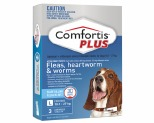 COMFORTIS PLUS BLUE 18.1-27KG 3 PACK
