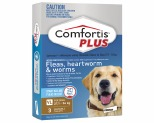 COMFORTIS PLUS BROWN 27-54KG 3 PACK