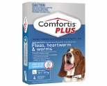 COMFORTIS PLUS 18.1-27KG 6 PACK (BLUE)