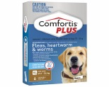 COMFORTIS PLUS BROWN 27-54KG 6 PACK