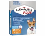 COMFORTIS PLUS 4-6.9KG 6 PACK (ORANGE)