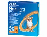 NEXGARD SPECTRA 2-3.5KG 6'S ORANGE