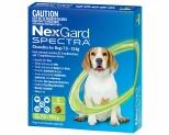 NEXGARD SPECTRA 7.6-15KG 6'S GREEN