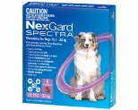 NEXGARD SPECTRA 15.1-30KG 6 PACK (PURPLE)