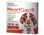 HEARTGARD PLUS CHEWS FOR LARGE DOGS 23-45KG 6 PACK (BROWN)