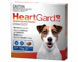 HEARTGARD PLUS CHEWS FOR SMALL DOGS UP TO 11KG 6 PACK (BLUE)