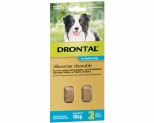 DRONTAL ALLWORMER CHEWABLE FOR MEDIUM DOGS UP TO 10KG 2 PACK