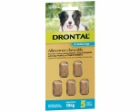 DRONTAL ALLWORMER CHEWABLE FOR MEDIUM DOGS UP TO 10KG 5 PACK