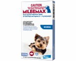 MILBEMAX FLAVOURED WORMING TABLETS FOR DOGS 0.5-5KG 2 PACK