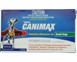 CANIMAX ALLWORMER FOR SMALL DOGS UP TO 5KG 4 PACK (GREEN)