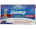 CANIMAX ALLWORMER FOR MEDIUM DOGS UP TO 10KG 4 PACK (RED)