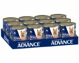 ADVANCE DOG CHICKEN TURKEY AND RICE 700G (X12)