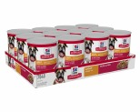 HILL'S SCIENCE DIET LIGHT WET DOG FOOD WITH LIVER ADULT CANS 12X370G