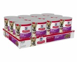 HILL'S SCIENCE DIET ENTRÉE WET DOG FOOD BEEF & BARLEY ADULT CANS 12X370G