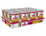 HILL'S SCIENCE DIET ENTREE WET DOG FOOD CHICKEN & BARLEY ADULT CANS 12X370G