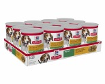 HILL'S SCIENCE DIET SAVORY STEW WET DOG FOOD WITH CHICKEN & VEGETABLES PUPPY CANS 12X363G