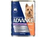ADVANCE DOG CHICKEN, TURKEY  AND RICE 410G