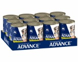 ADVANCE PUPPY PLUS CHICKEN AND RICE 410G (X12)