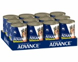 ADVANCE DOG CASSEROLE CHICKEN 400G (X12)