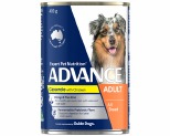 ADVANCE DOG CASSEROLE CHICKEN 400G
