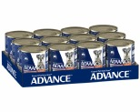 ADVANCE DOG CHICKEN AND SALMON 700G (X12)