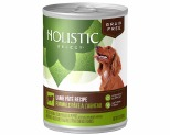 HOLISTIC SELECT GRAIN FREE WET DOG FOOD LAMB RECIPE ADULT CANNED 369G