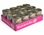 EUKANUBA DOG ADULT MIXED GRILL CHICKEN & BEEF DINNER IN GRAVY 12 X 354G