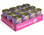 EUKANUBA DOG PUPPY MIXED GRILL CHICKEN & BEEF DINNER IN GRAVY 12 X 355G