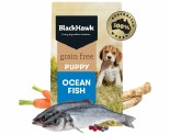 BLACK HAWK GRAIN FREE OCEAN FISH PUPPY FOOD 15KG