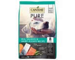 CANIDAE PURE REAL SALMON & SWEET POTATO GRAIN FREE DOG FOOD 10.8KG
